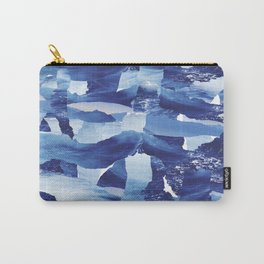 Nautical abstract pattern Carry-All Pouch