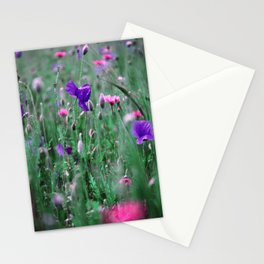Poppies xp Stationery Cards