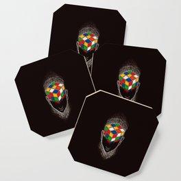 Enigma (dark version) Coaster