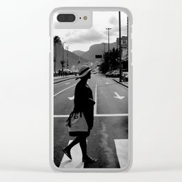 Girl from Ipanema Clear iPhone Case