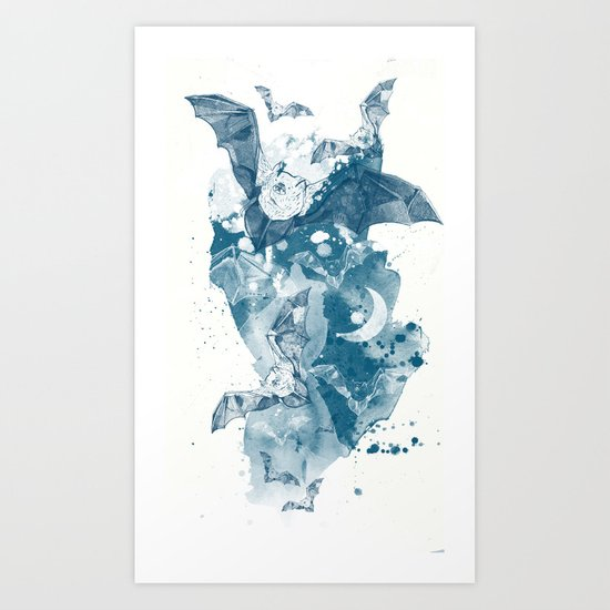 Night Flight Art Print