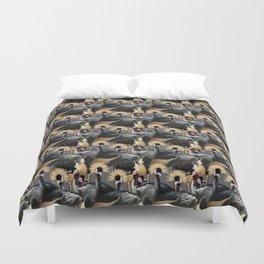 Exotic Birds Duvet Cover