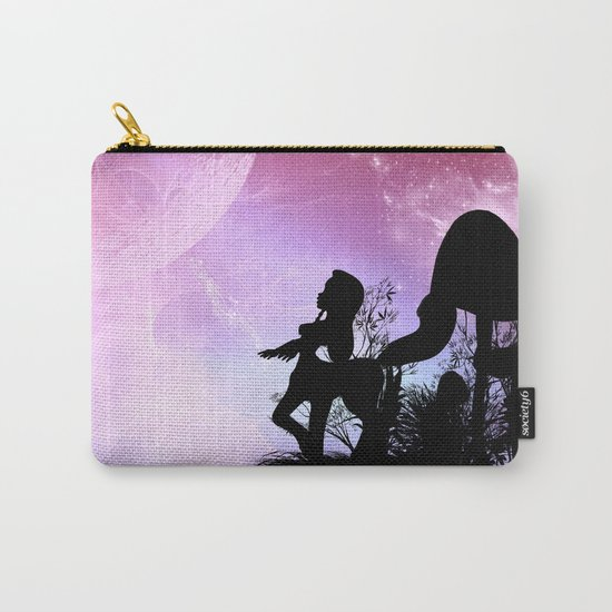 Cute centaurs silhouette Carry-All Pouch