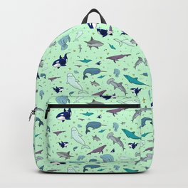 Sea Animals Backpack