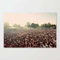 it crowd Canvas Prints featuring crowd by Jason Domingues