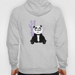 Panda Girl - Purple Hoody