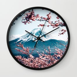 Japan - 'Mount Fuji' Wall Clock