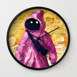 Pink Jawa Wall Clock