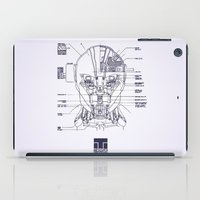 blueprint iPad Cases featuring Blueprint by CromMorc