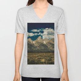 Mountain Summer Escape Unisex V-Neck