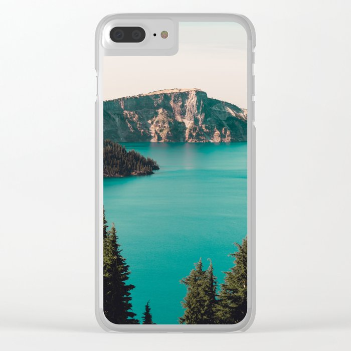 Dreamy Lake Clear iPhone Case