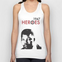 heroes Tank Tops featuring HEROES by BALANCE 1947