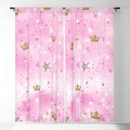 Pink Princess Blackout Curtain