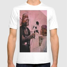 Darth loves Leia White Mens Fitted Tee MEDIUM