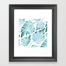 love tropical  Framed Art Print