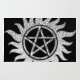 Carry On Supernatural Pentacle Rug