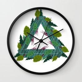 Wreath Wall Clock