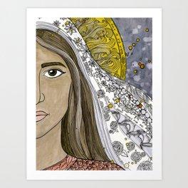 Mary Kunstdrucke