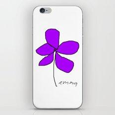 Violetra iPhone Skin