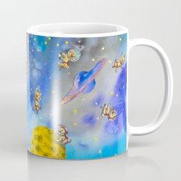 Space Koala watercolor #2 Coffee Mug
