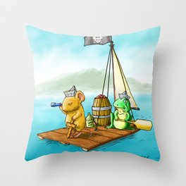 The Adventure Throw Pillow