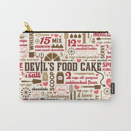 Devil's Food Cake Carry-All Pouch