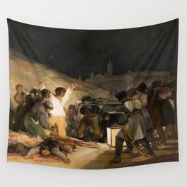 The Third of May by Francisco Goya, 1814 Wall Tapestry