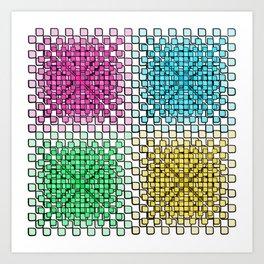 Cubical Art Print