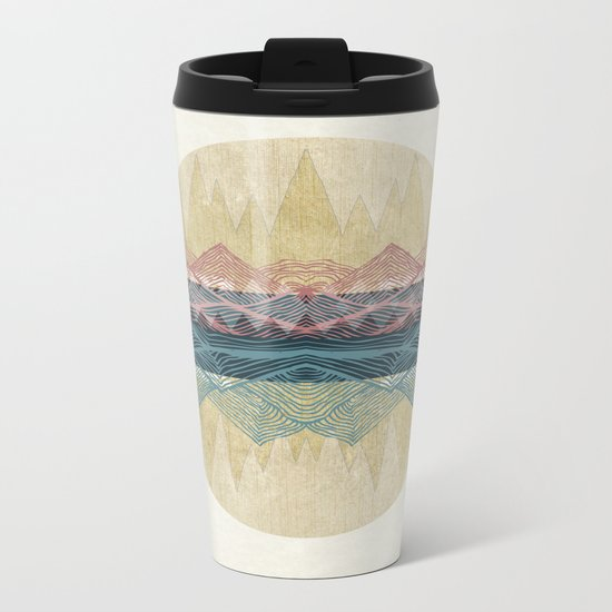 Inhale  Metal Travel Mug