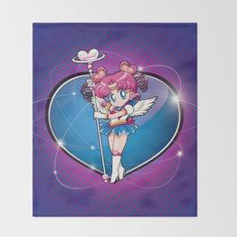 Sailor Chibi Chibi - Sailor Moon Sailor Stars vers. Throw Blanket