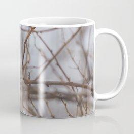 Rainy day cardinal Coffee Mug
