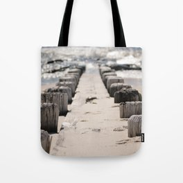 Jetty on the Beach Tote Bag