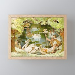 """The Fairy Lake"" by E S Hardy Framed Mini Art Print"