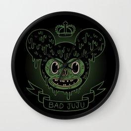 bad juju Wall Clock
