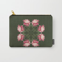 Japanese Chrysanthemum Mandala Carry-All Pouch