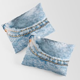 Jeans Pocket With Denim Texture, Jeans Texture, Denim Texture, Textured Background Cover, Pattern Pillow Sham