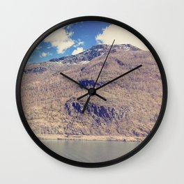 Sognefjord IV Wall Clock