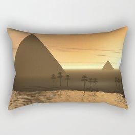 The Giza Necropolis Rectangular Pillow