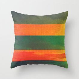waves (01) Throw Pillow