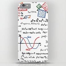 Math Cheat Sheet iPhone 6s Plus Slim Case
