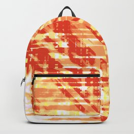 Aesthetic Urban Abstract Visual Art Vanilla Sky Backpack