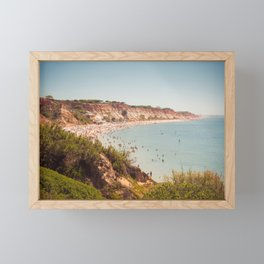 Beach Portugal Falesia Atlantic Framed Mini Art Print