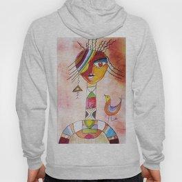 Abstract Woman Hoody