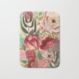 Mixed Floral Bath Mat