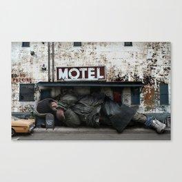 Homeless Giant Canvas Print