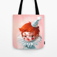makeup Tote Bags featuring Makeup by Joelle Murray