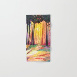 Paint The Forest Hand & Bath Towel