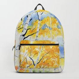 Under the Birch Forest Backpack