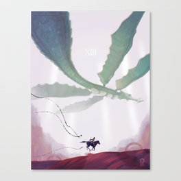 Shadow of the Colossus: Phalanx Canvas Print