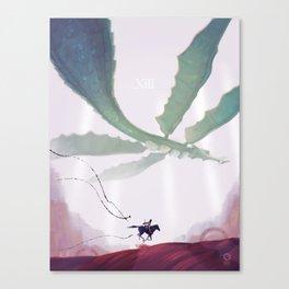 Shadow of the Colossus: Phalanx Canvas Print